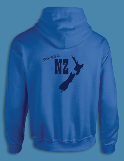 Custom New Zealand Trip Hoodie