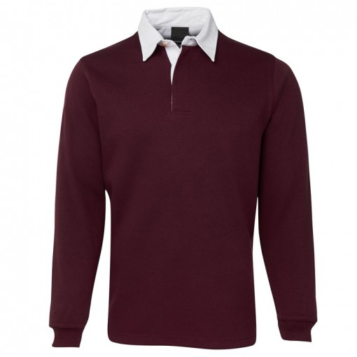 Custom Rugby Shirt - Maroon