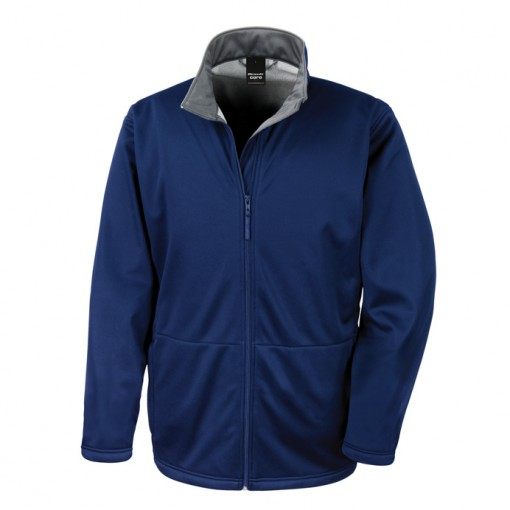 Classic soft shell mens Navy