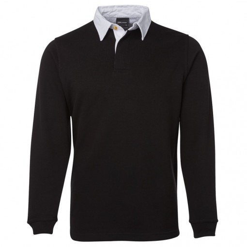 Custom Rugby Jumper Black