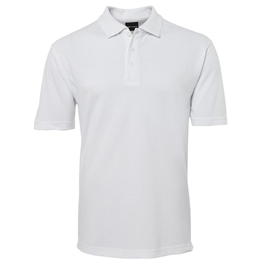 Custom Mens White Polo Shirt
