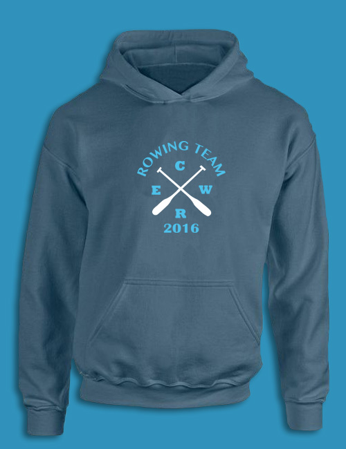 Custom Rowing Team Hoodie