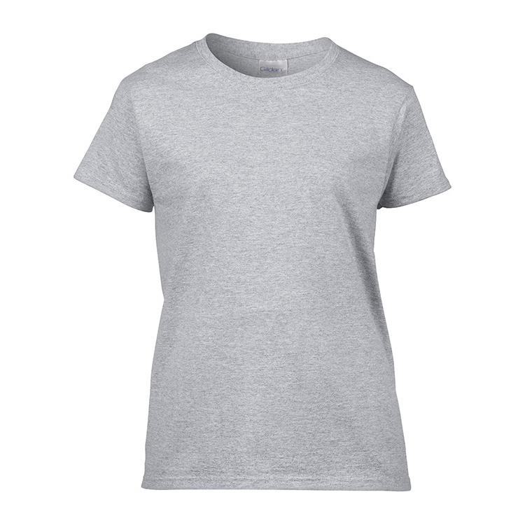 Custom Womens T-Shirt Grey Marle