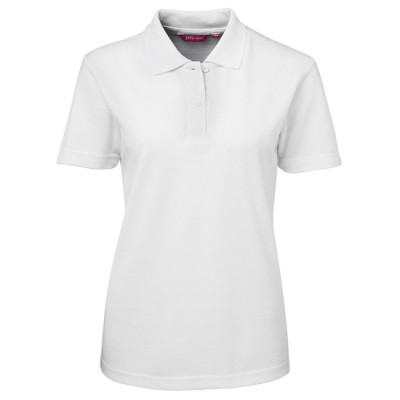 Custom Womens Polo Shirt - White