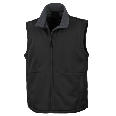 Black Custom Body Warmer