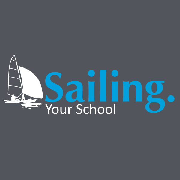 Sailing school print design