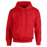 Classic red hoodie