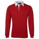 Custom Rugby Shirt - Red
