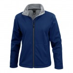 Classic soft shell womens Navy