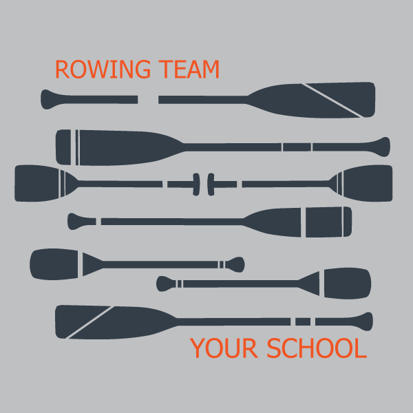 Rowing team print design v2