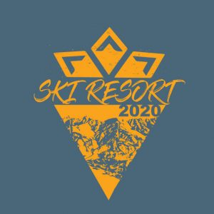 Ski resort logo 2020